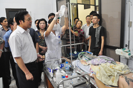 Có 5 nạn nhân bị nhiễm độc nặng