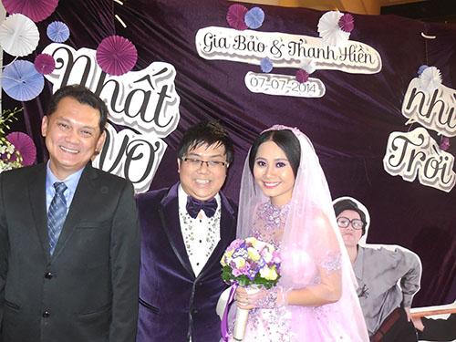 NSƯT Hữu Châu làm chủ hôn đám cưới diễn viên Gia Bảo, Thanh Hiền.