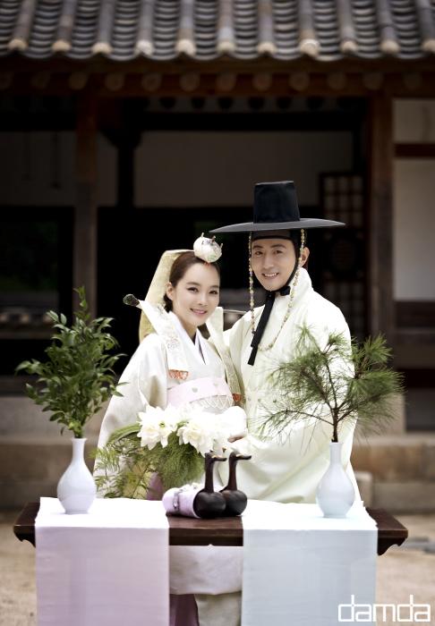 Chae Rim và Cao Tử Kỳ trang phục truyền thống Hàn Quốc