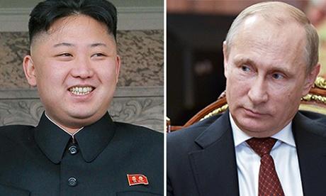 Ông Putin mời Kim Jong-un đến Moscow. Ảnh: AP