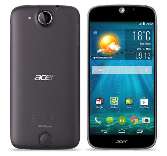 Acer tung Liquid Jade S dùng chíp 64-bit đầu tiên
