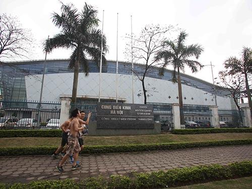 Cung Điền kinh Hà Nội, nơi rất ít diễn ra các hoạt động thể thao quốc tế gần đây, gây lãng phí cho đất nước Ảnh: MẠNH DUY