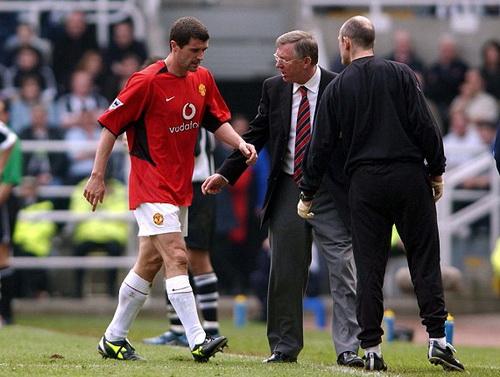 Quan hệ Roy Keane và BHL Man United xấu đi năm 2005