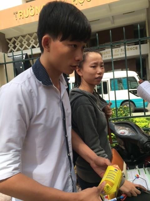 Thí sinh Trường THPT Lê Thánh Tôn, Gia Lai