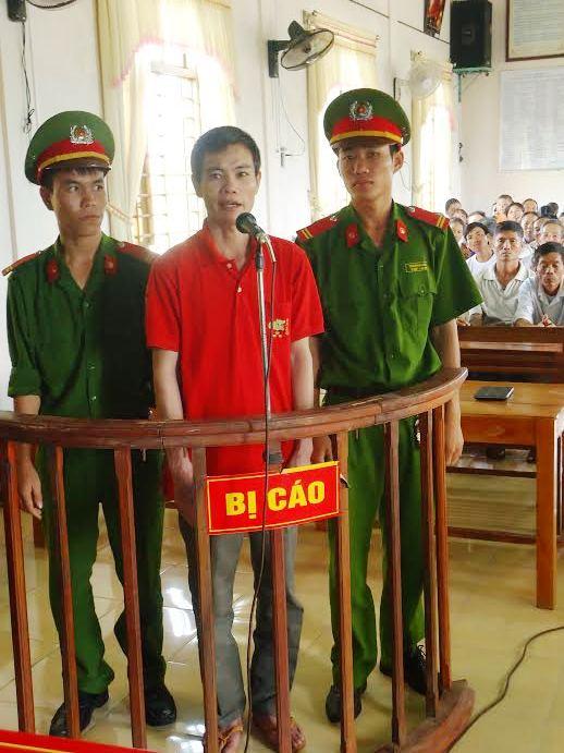Bị cáo Lê Trọng Đằng tại tòa