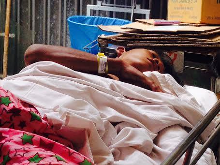 Trần Thiệu Như đang được điều trị tại Bệnh viện Chợ Rẫy