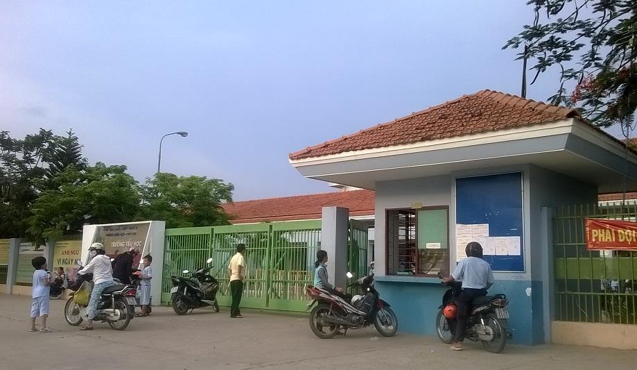 Trường Tiểu học Nguyễn Minh Quang - nơi xảy ra vụ việc