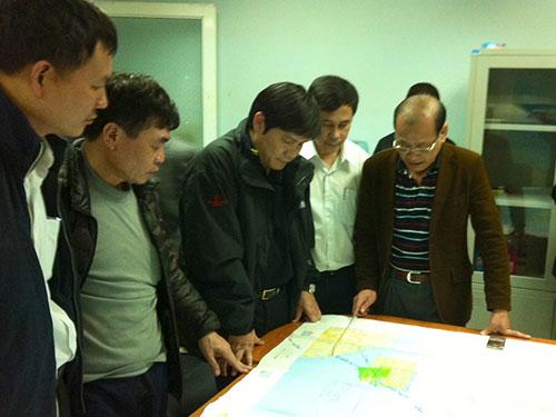 Sở chỉ huy tìm kiếm cứu nạn hàng không tác chiến các biện pháp cứu hộ, cứu nạn Ảnh: Tô Hà