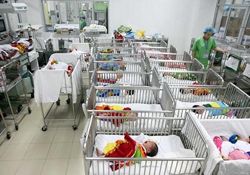Chăm sóc trẻ sơ sinh tại Bệnh viện Phụ sản trung ươngẢnh: Ngọc Dung