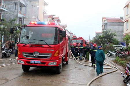 Toàn cảnh hiện trường vụ cháy