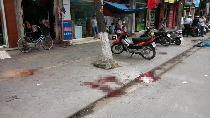 Kinh hoàng học viên cai nghiện đâm chết người trên phố