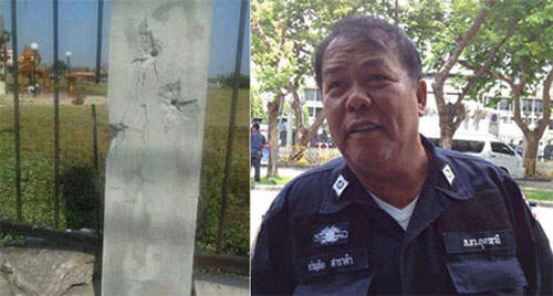 """Hôm 21-1, ông Kwanchai tuyên bố nếu quân đội Thái Lan đảo chính lật đổ chính phủ,  toàn bộ lực lượng """"áo đỏ"""" ở 20 tỉnh miền đông bắc sẽ đồng loạt biểu tình."""