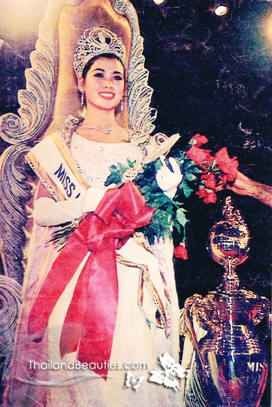 Thời điểm Apasra Hongsakula đăng quang Hoa hậu Hoàn Vũ