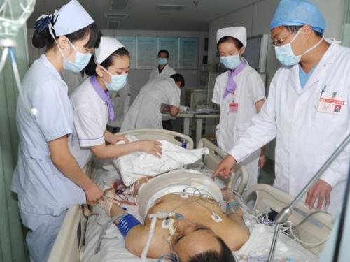 Bệnh nhân Yang sau ca phẫu thuật