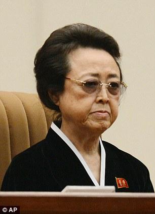 Bà Kim Kyong-hui. Ảnh: AP