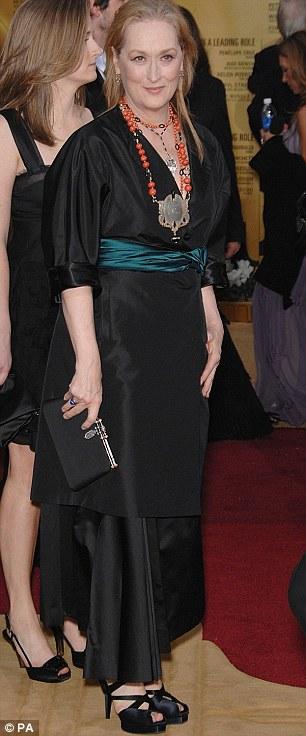 Meryl Streep trong trang phục quá luộm thuộm