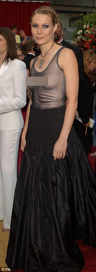 Người đẹp Gwyneth Paltrow cũng thích thú với mốt thời trang này