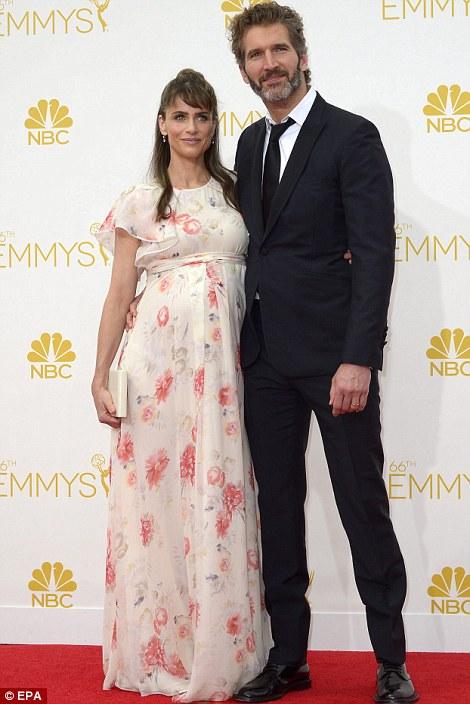 Amanda Peet và chồng