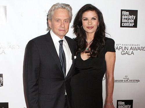 Michael Douglas và vợ hiện tại