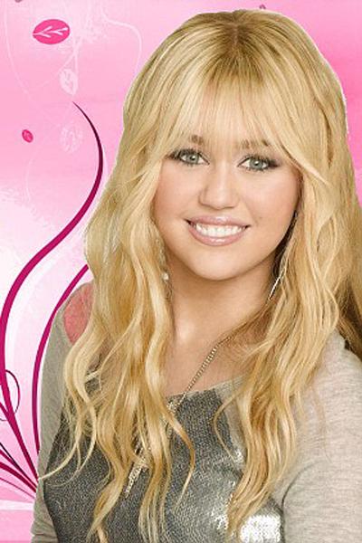 Miley thuở còn là Hannah Montana