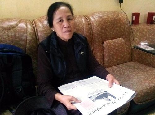 Bà Đỗ Thị Hằng. Ảnh: Nguyễn Quyết