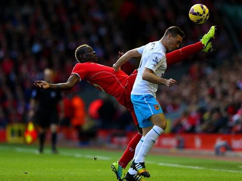 Balotelli tiếp tục gây thất vọng cho người hâm mộ Liverpool