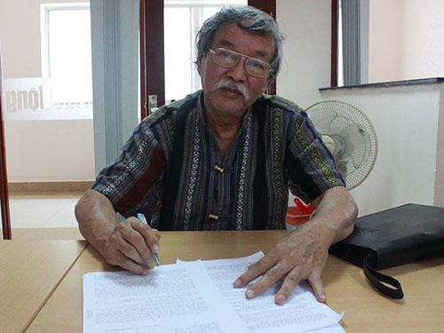 Ông Nguyễn Hùng mong muốn UBND TP HCM giảm giá bán căn hộ tái định cư theo diện chính sách người có công