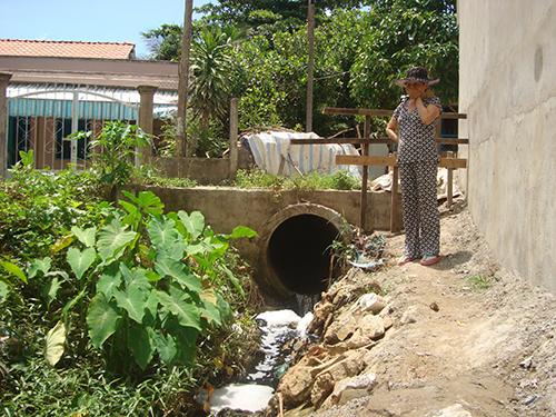 Cống gây ô nhiễm tại khu vực 6, phường An Khánh, quận Ninh Kiều,  TP Cần Thơ
