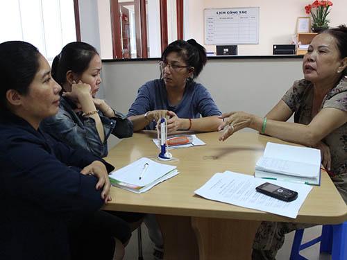 Người tham gia đường dây hụi của bà Lương Thị Xê bức xúc trình bày về việc không được trả tiền đóng hụi