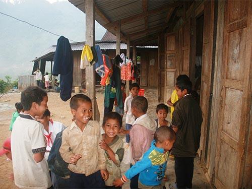 Học sinh ở những điểm trường vùng núi tỉnh Quảng Nam còn rất khó khănẢnh: Trần Thường