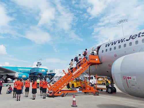 Đường bay thẳng được kỳ vọng sẽ hỗ trợ sự phát triển của doanh nghiệp hàng không