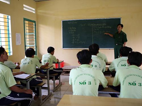 Học viên cai nghiện tại Trường Giáo dục Đào tạo và Giải quyết việc làm số 3, TP HCMẢnh: Quang Liêm