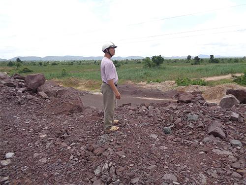 Hơn 3 ha đất nông nghiệp của hộ ông Vũ Văn Thanh bị thu hồi nhưng chỉ được hỗ trợ 1.800 đồng/m2