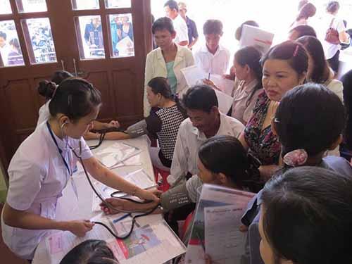 Khám bệnh miễn phí cho người dân tại  TP Tam KỳẢnh: Trần Thường