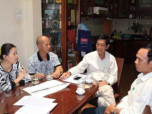 Nhiều người dân ở tổ 52, khu phố 3, phường 15, quận Bình Thạnh,  TP HCM lo lắng về việc nhà ở sẽ bị giải tỏa trắng
