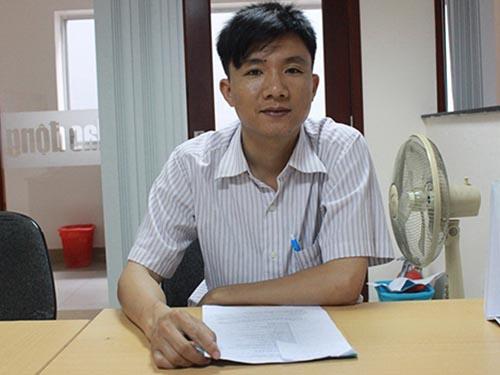Ông Lê Văn Tài phản ánh với Báo Người Lao Động về việc mất tài sản trên taxi