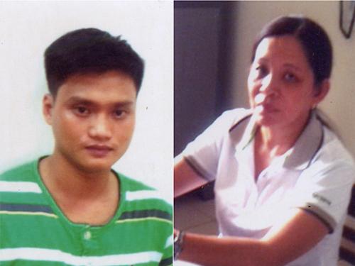 Đặng Văn Như và Nguyễn Thị Hồng Hạnh vừa bị Cơ quan CSĐT Công an TP Cần Thơ bắt vì hành vi chiếm đoạt ô tôẢnh: ĐÌNH BẢY