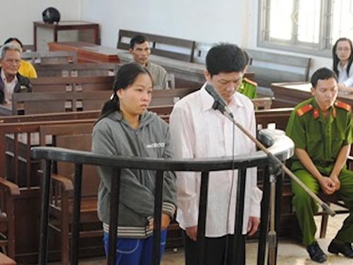 Vợ chồng ông Trần Thanh Tâm và bà Lê Ngọc Nhi hầu tòa vì bẫy chuột gây chết người