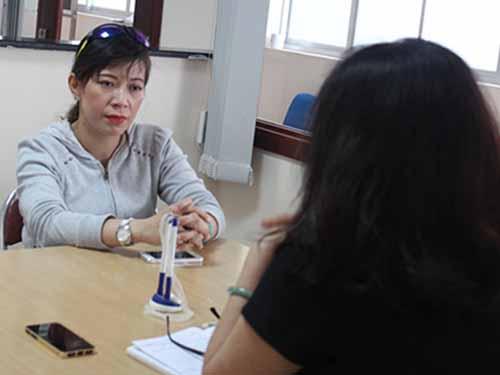 Bà Hàn Mỹ Linh thừa nhận đồng hồ Công ty Đồng Tâm bán là hàng kém chất lượng.