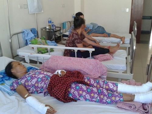 Bà Phương đang điều trị tại bệnh viện