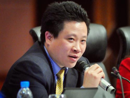 Ông Hà Văn Thắm trước khi bị khởi tố và bắt tạm giam
