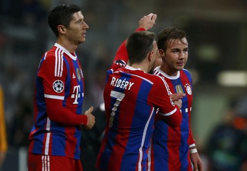 Bayern Munich đánh bại Roma, giành vé sớm vào vòng 16