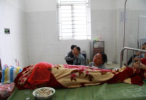 Bệnh nhân Nguyễn Thị Hồng Nhung tử vong ngay trên giường bệnh