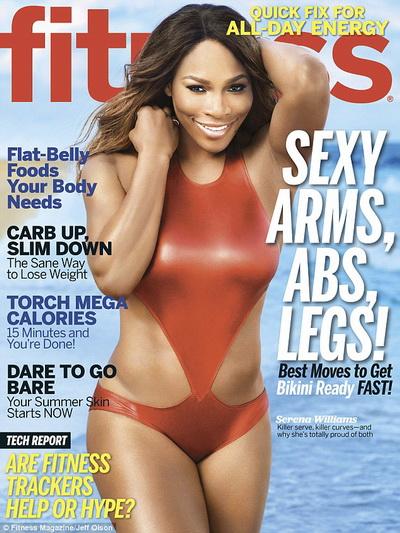 Làm người mẫu bìa tạp chí chuyên về sức khỏe