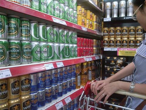 Các thương hiệu bia nội đã đến thời điểm cạnh tranh trực tiếp với bia ngoại