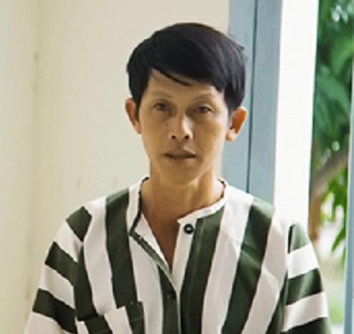 Nguyễn Tuấn Anh tại trại giam Công an tỉnh Khánh Hòa