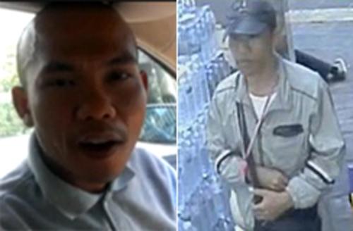 Người được cho là nghi phạm ném bom hôm 19-1.
