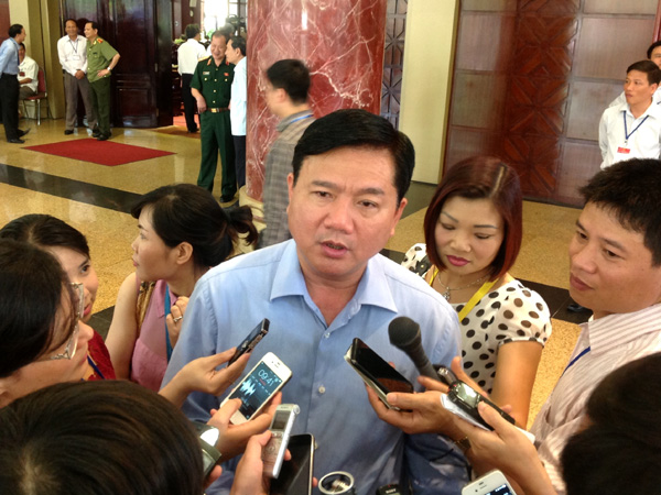 Bộ trưởng Bộ GTVT Đinh La Thăng bác bỏ thông tin Nhật Bản sẽ ngừng viện trợ ODA cho Việt Nam