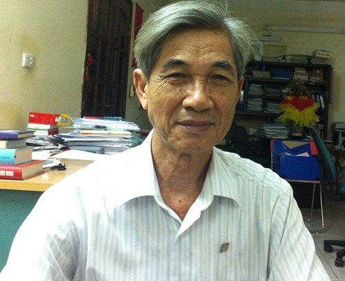 Ông Bùi Danh Liên - Chủ tịch Hiệp hội vận tải Hà Nội
