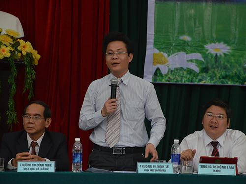 PGS-TS Lê Văn Huy, Trưởng Phòng đào tạo Trường ĐH Kinh tế Đà Nẵng